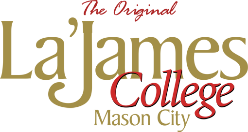 LaJames College Mason City Beauty School Logo
