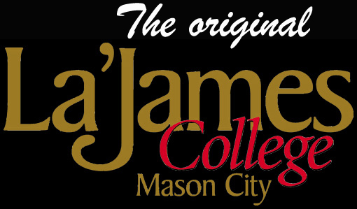 La James College Mason City Logo