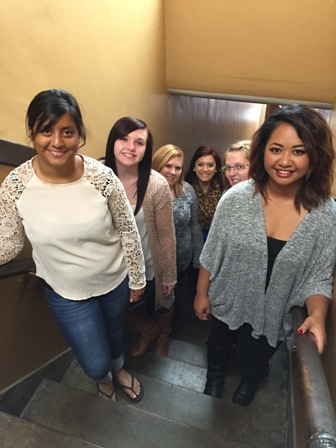 Thanks to our students for helping out with the tour of LaJames College Beauty school Dormitories.
